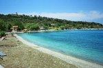 Spiaggia Skala Mistegnon di Lesbo