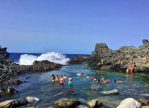 Laghetto delle ondine di pantelleria qspiagge for Eliminare acqua verde laghetto