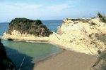 Spiaggia Canal d'amour di Corfù