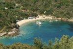 Spiaggia Sarakiniko di Itaca