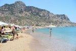 Spiaggia Tsambika di Rodi