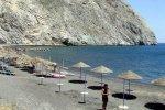 Spiaggia Perìssa di Santorini
