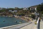 Spiaggia Ahladi di Syros