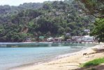 Man-O-War Bay di Tobago