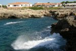 Spiaggia Binibeca Vell di Minorca