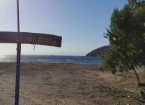 Spiaggia Lefkes di Patmos
