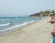 Ladies beach di Kusadasi