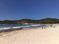 Playa Migjorn di Ibiza