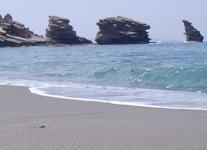 Spiaggia Triopetra di Creta