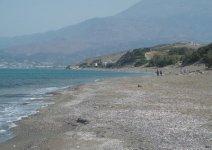 Spiaggia Komos di Creta
