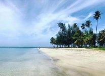 Spiaggia Luquillo di Porto Rico