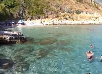 Spiaggia Agios Thomas di Cefalonia