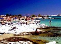Spiaggia Kolymbithres di Paros