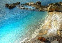 Spiaggia Balzi Rossi di Ventimiglia