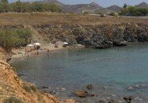 Spiaggia Kokkina di Syros