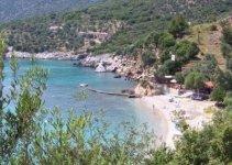 Spiaggia Megalos Mourtias di Alonissos