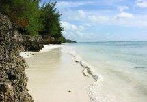 Spiaggia Pongwe di Zanzibar