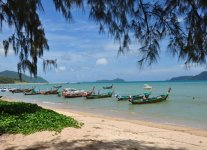 Spiaggia Rawai di Phuket