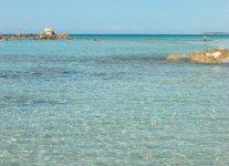Playa de Sant Tomas di Minorca