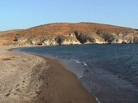 Spiaggia Sigri di Lesbo