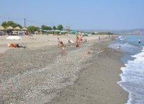 Spiaggia Maleme di Creta