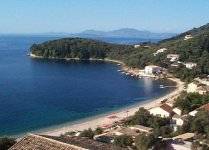 Spiaggia Kalami di Corfù