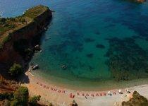 Spiaggia Kokinokastro di Alonissos