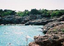 Spiaggia Caló Blanc di Minorca