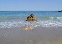Playa de s'Aigua Blanca di Ibiza