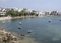 Spiaggia Piso Livadi di Paros