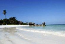Spiaggia Matemwe di Zanzibar