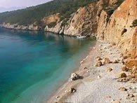Spiaggia Chalikiada di Angistri