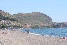 Spiaggia Skala Eressou di Lesbo