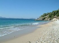 Spiaggia Krouzeri di Corfù