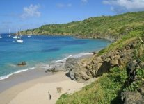 Colombier Beach di San Barth