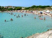 Spiaggia La Bobba Isola di San Pietro