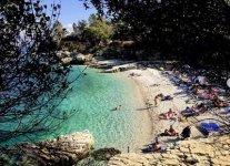 Spiaggia Bataria-Kassiopi di Corfù