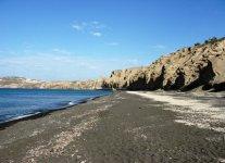 Spiaggia Vlychada di Santorini