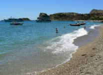 Spiaggia Stegna di Rodi