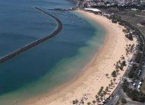Spiaggia de Las Teresitas di Tenerife