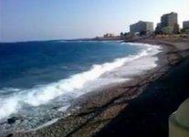 Spiaggia Akti Miaouli di Rodi.jpg