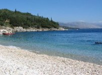 Spiaggia Kerasia di Corfù