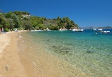 Spiaggia Tzaneria di Skiathos
