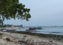Spiaggia Fuji di Zanzibar