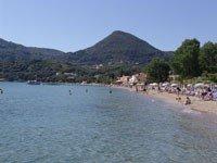 Spiaggia Messonghi di Corfù