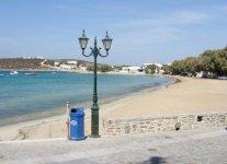 Aliki Beach di Paros