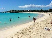 Mullet Bay Beach di Saint Martin