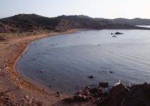 Playa de Cavalleria di Minorca