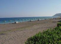 Ixia beach di Rodi