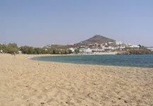Spiaggia Logaras di Paros